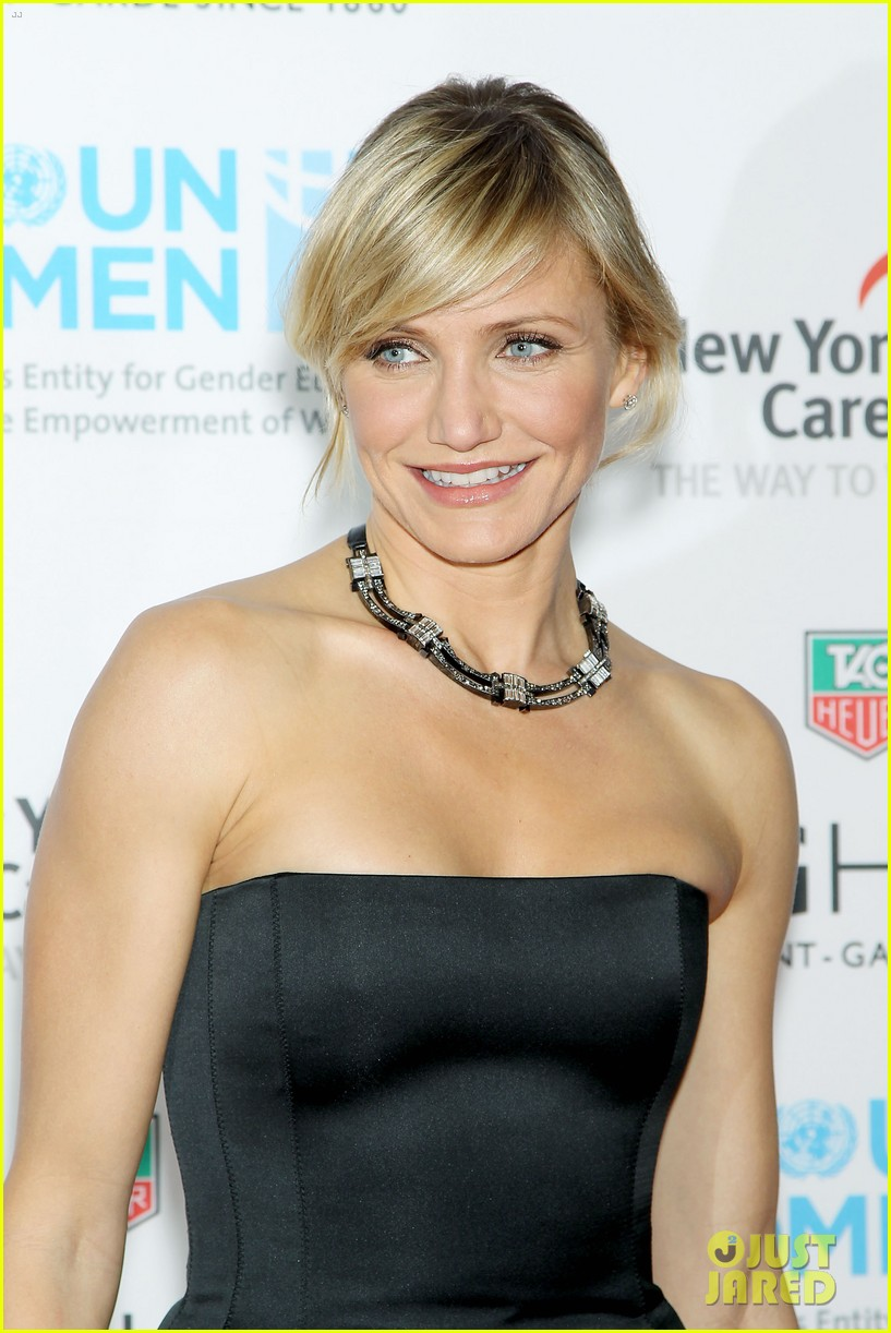 cameron diaz tag heuer watch launch 112754943