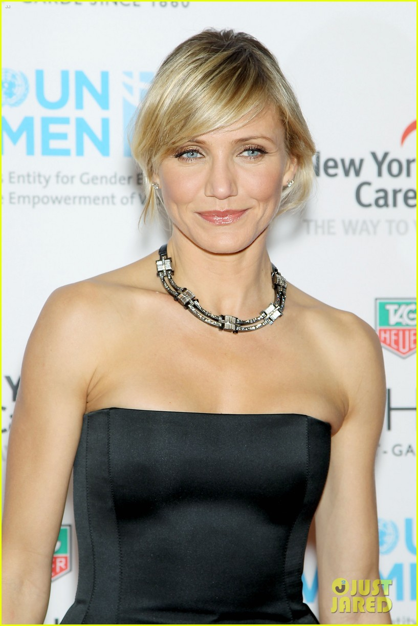 cameron diaz tag heuer watch launch 122754944