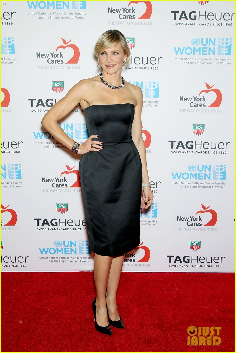 cameron diaz tag heuer watch launch 132754945