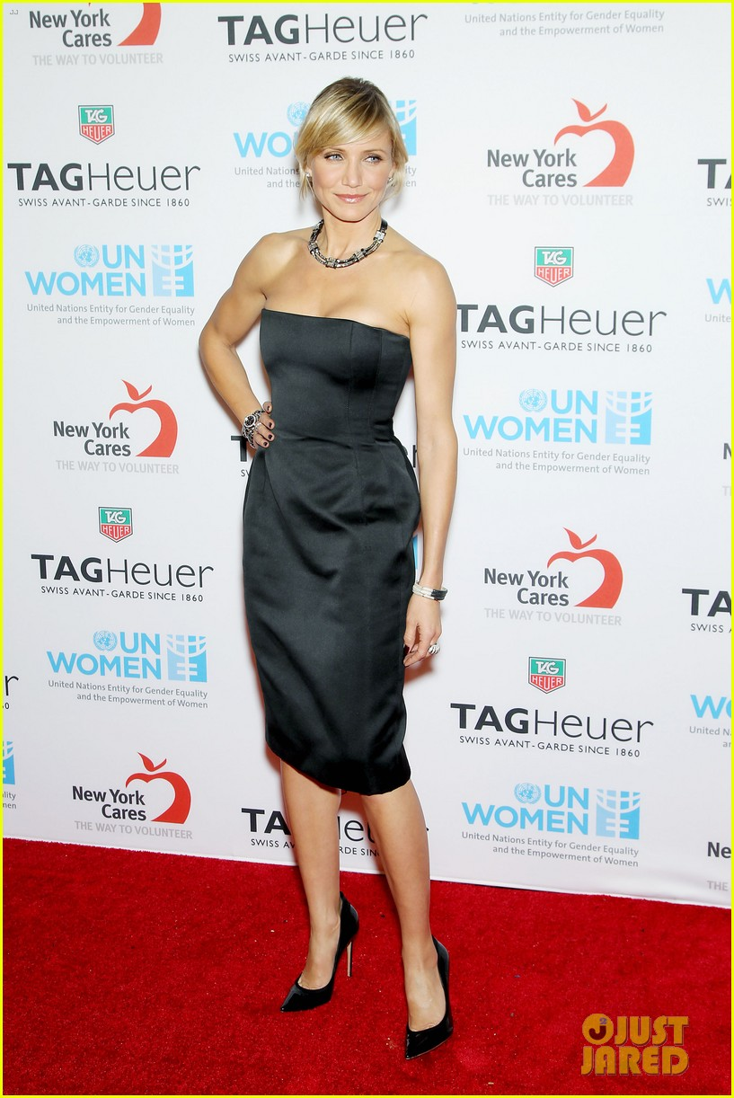 cameron diaz tag heuer watch launch 152754947