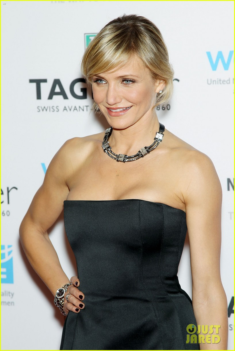 cameron diaz tag heuer watch launch 16