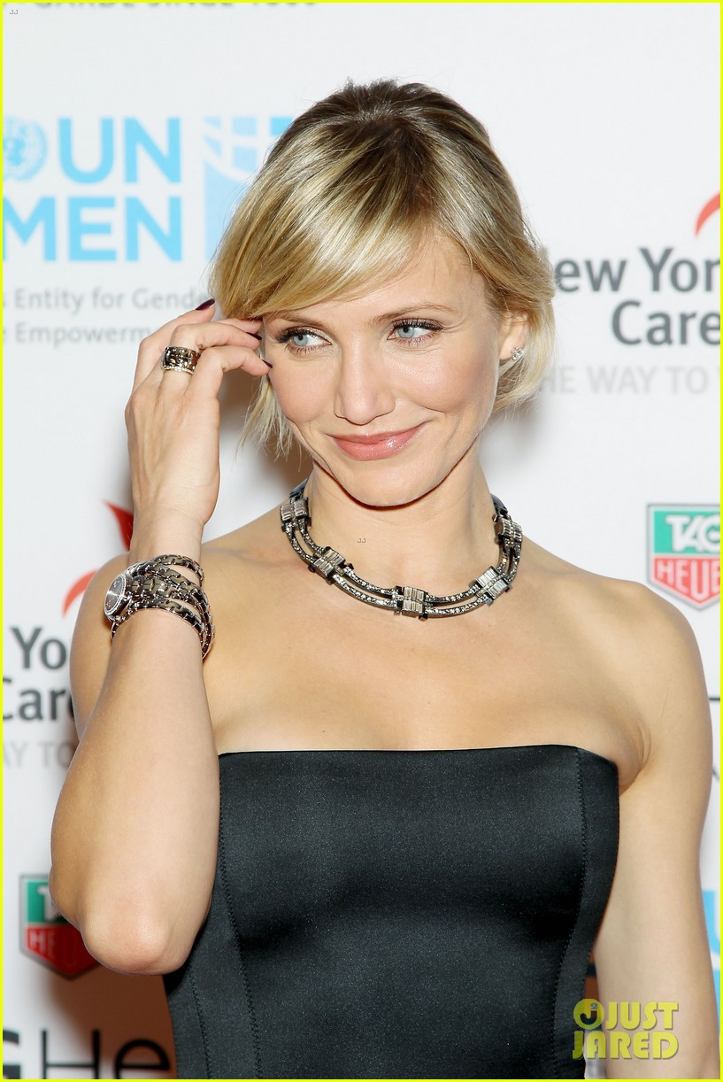 cameron diaz tag heuer watch launch 202754952