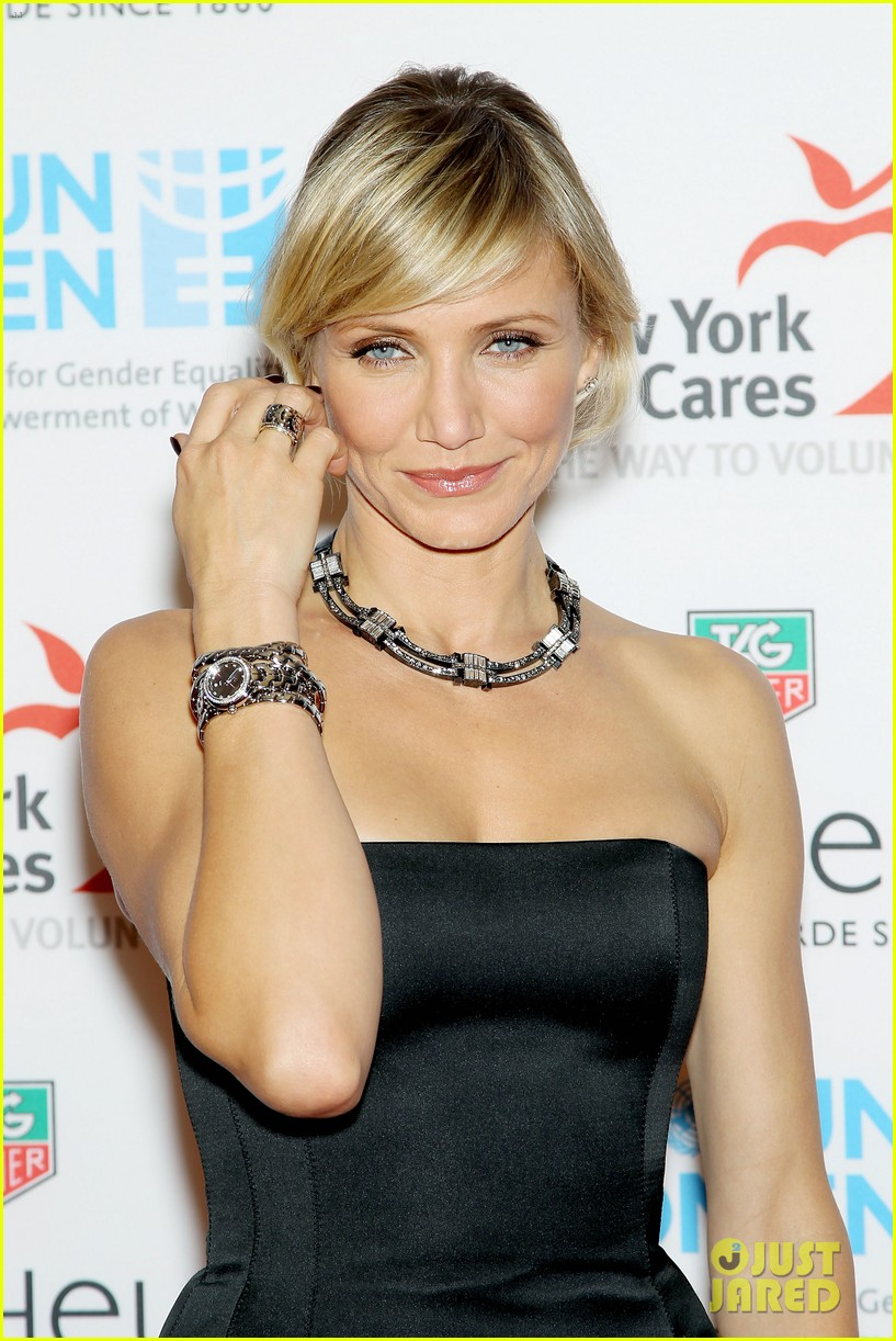 cameron diaz tag heuer watch launch 212754953