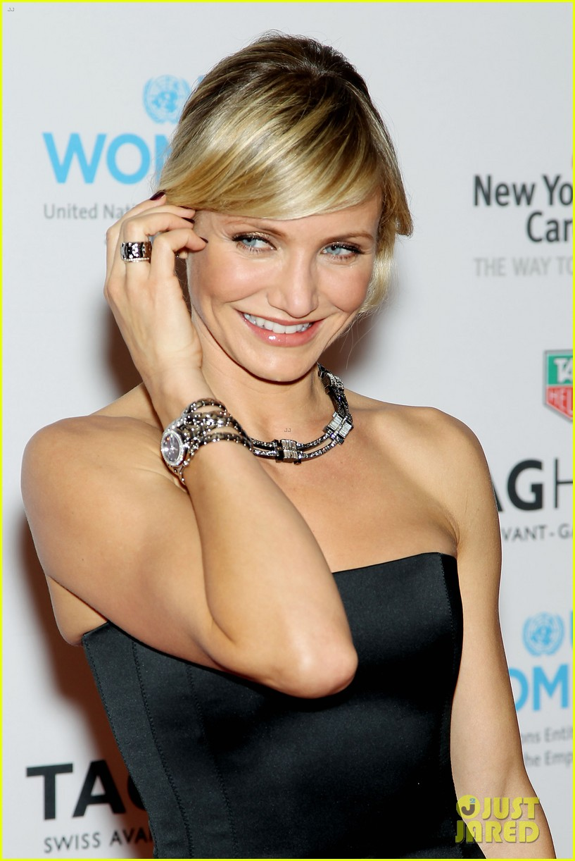cameron diaz tag heuer watch launch 25