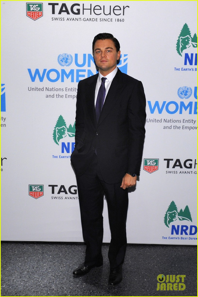 leonardo dicaprio tag heuer event with cameron diaz 012755160