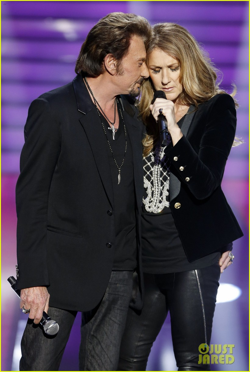 celine dion grand show duet with johnny hallyday 012764215
