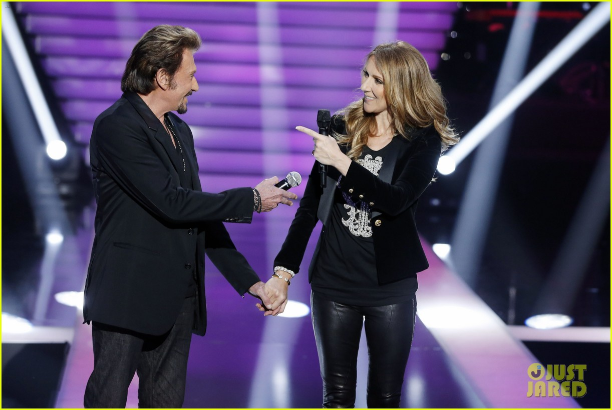 celine dion grand show duet with johnny hallyday 072764221