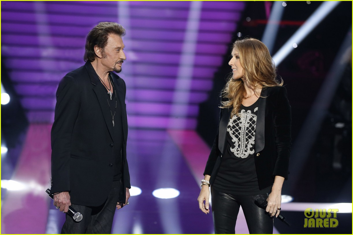 celine dion grand show duet with johnny hallyday 082764222
