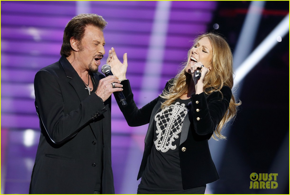 celine dion grand show duet with johnny hallyday 092764223
