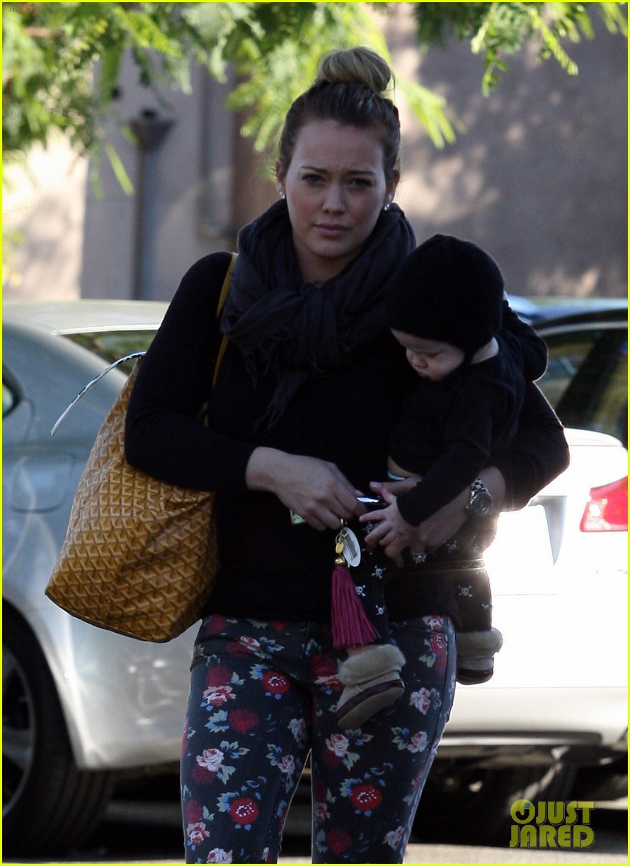 hilary duff bristol farms shopping with luca 182755867