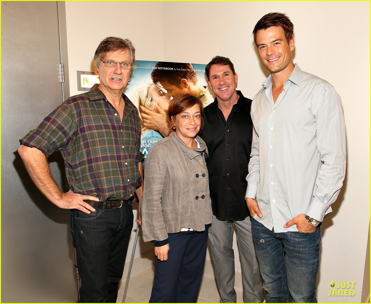 josh duhamel safe haven afi reception 01