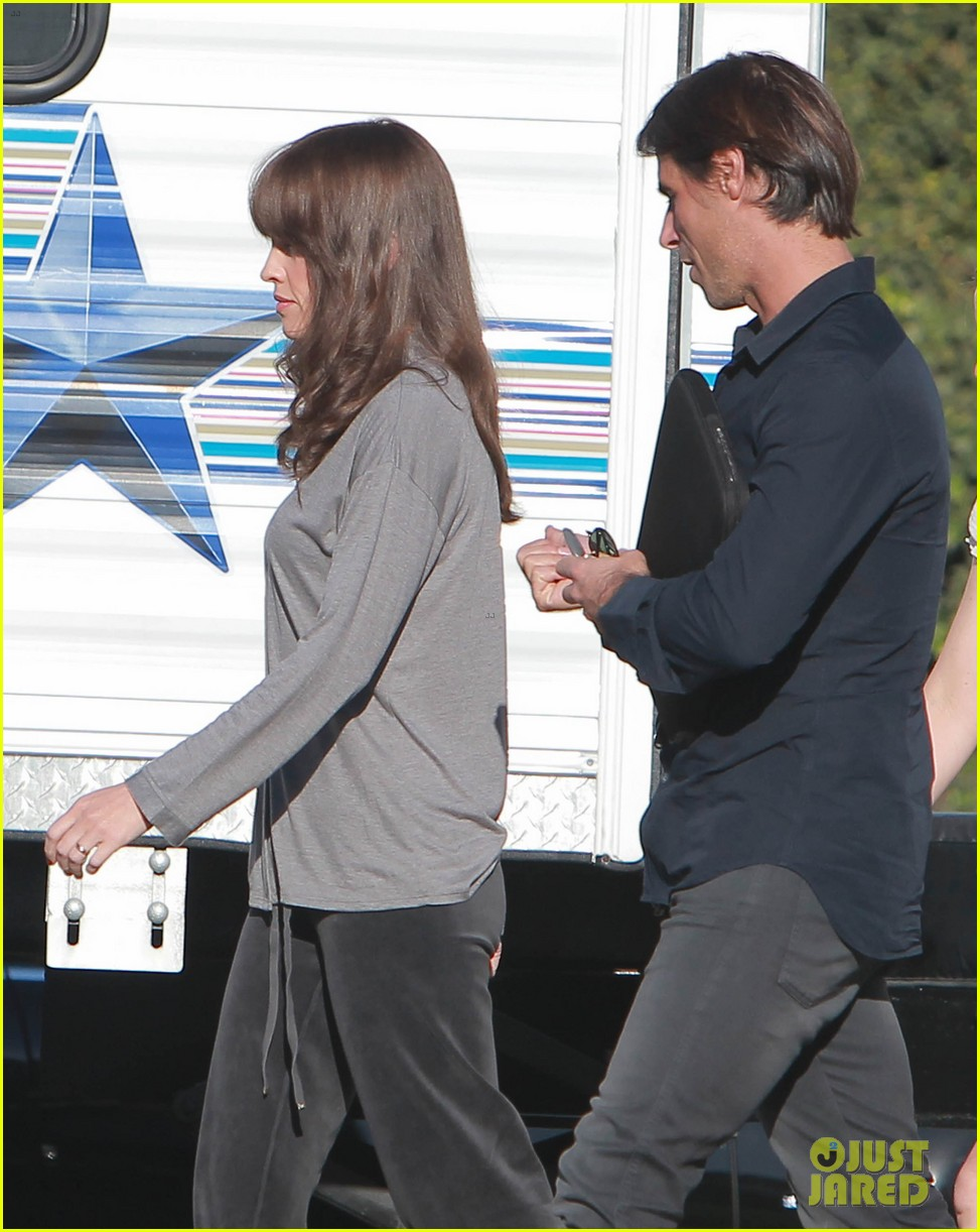josh duhamel wears i voted sticker on youre not you set 192752003