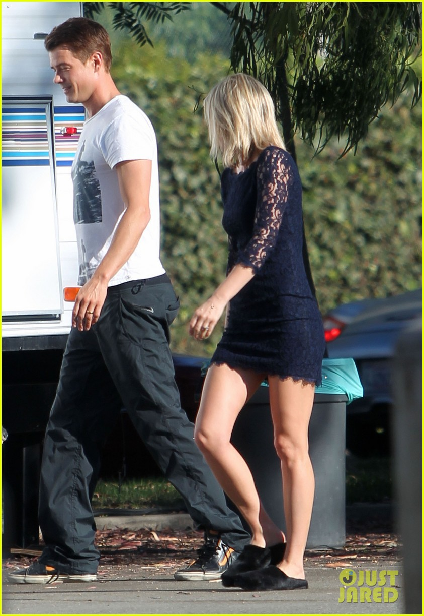 josh duhamel wears i voted sticker on youre not you set 262752010