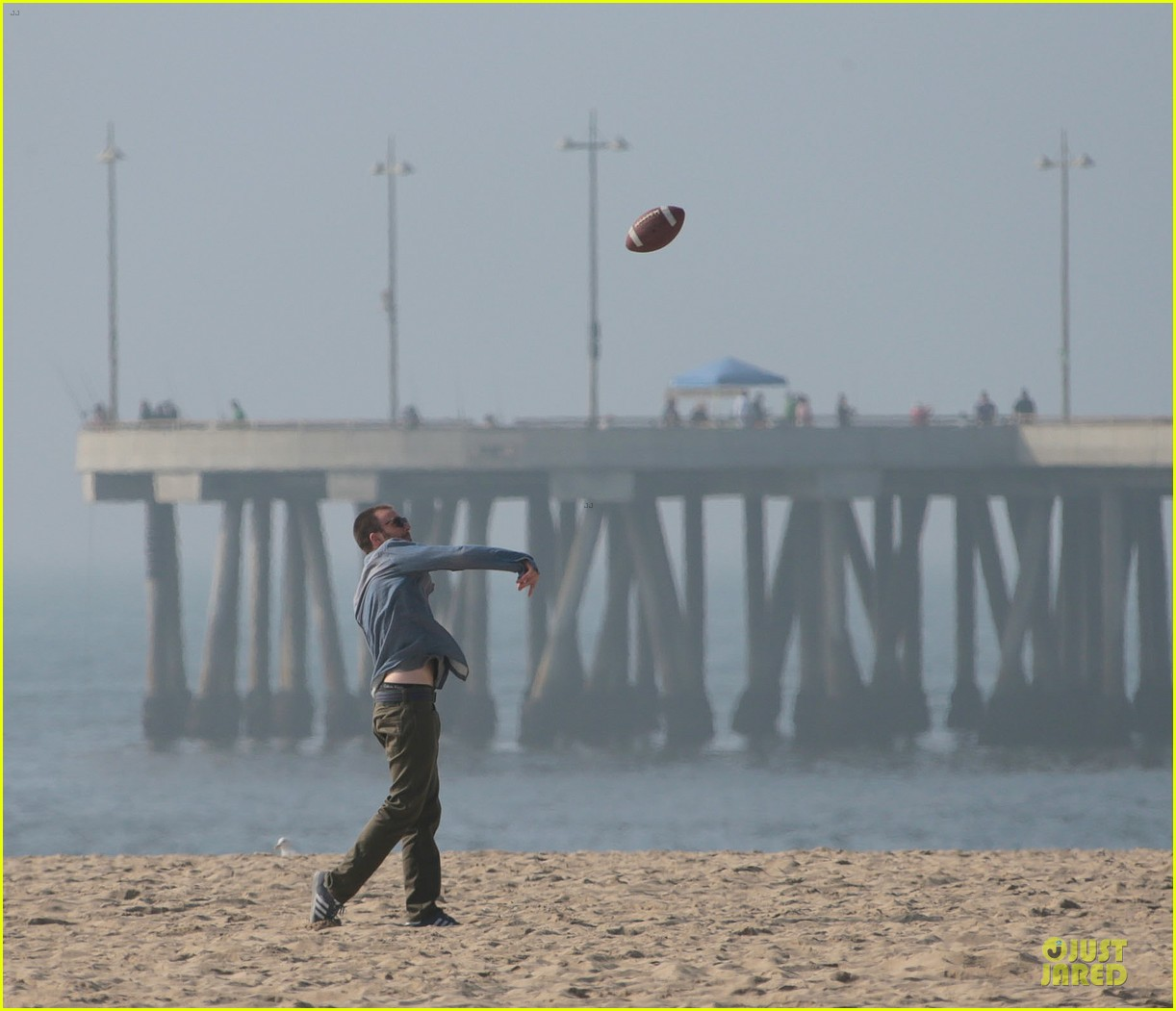 chris evans football on a many splintered thing set 332763950