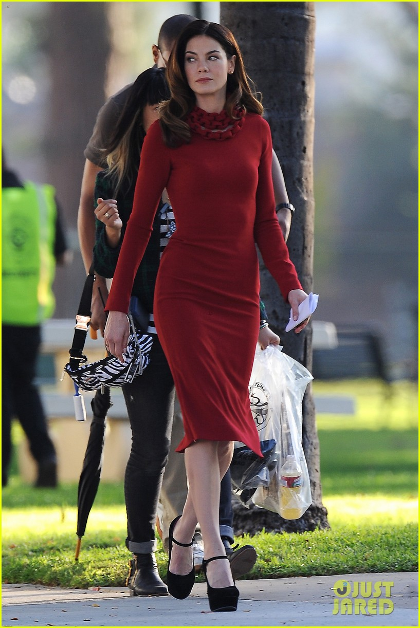chris evans michelle monaghan many set 142758879