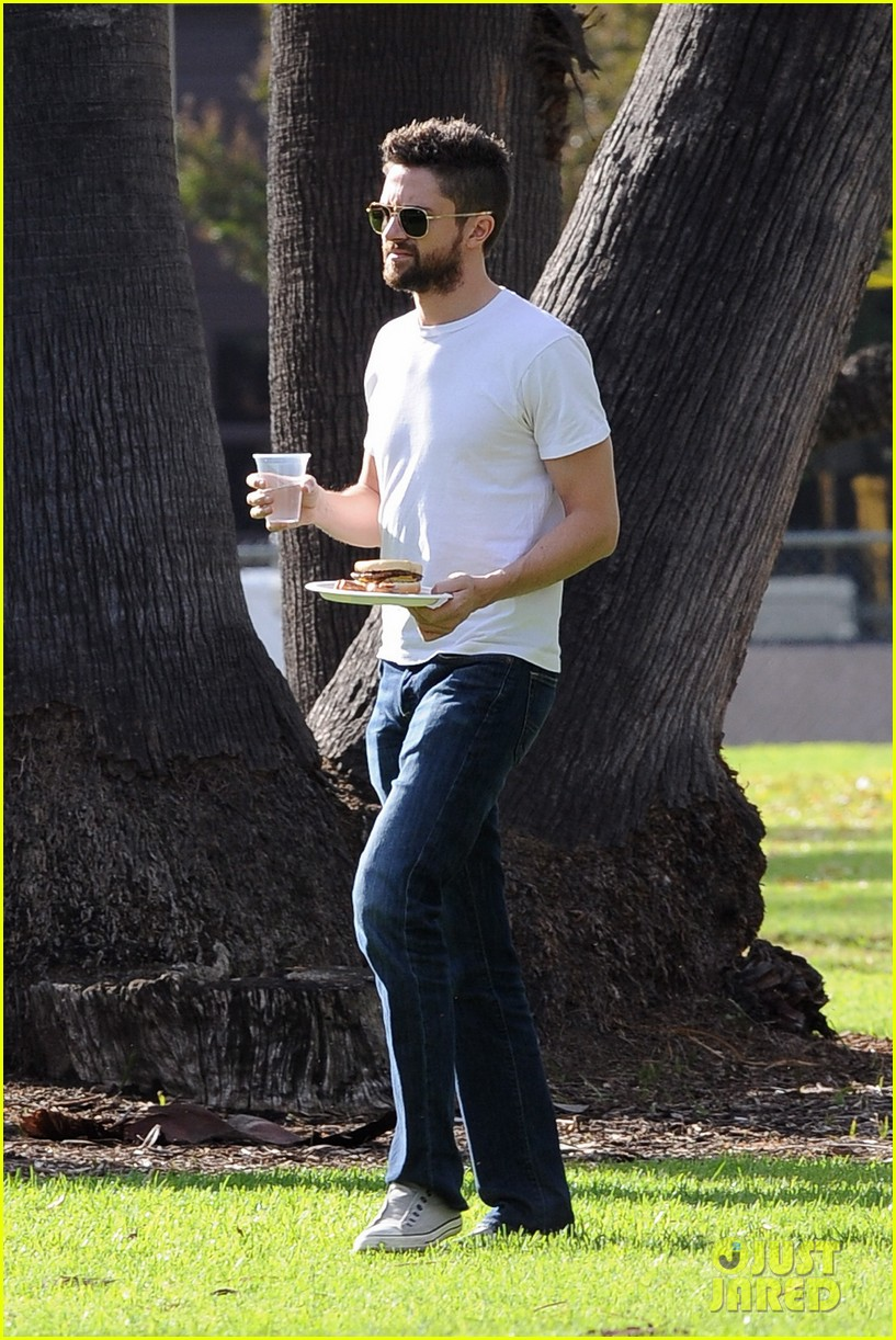 chris evans michelle monaghan many set 322758897