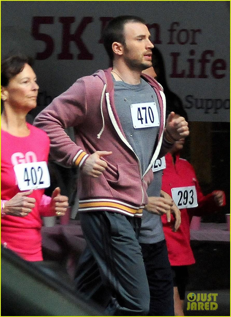 chris evans splintered thing marathon runner 042764733