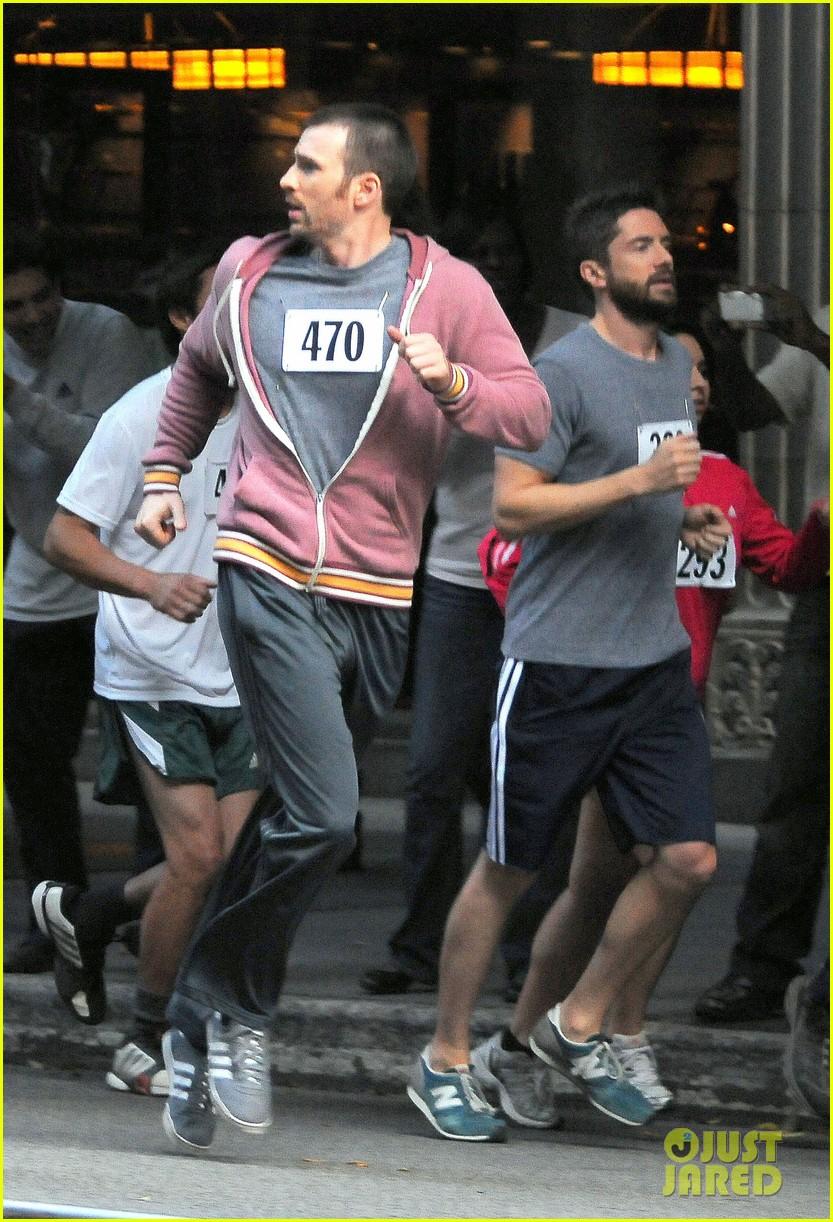 chris evans splintered thing marathon runner 052764734