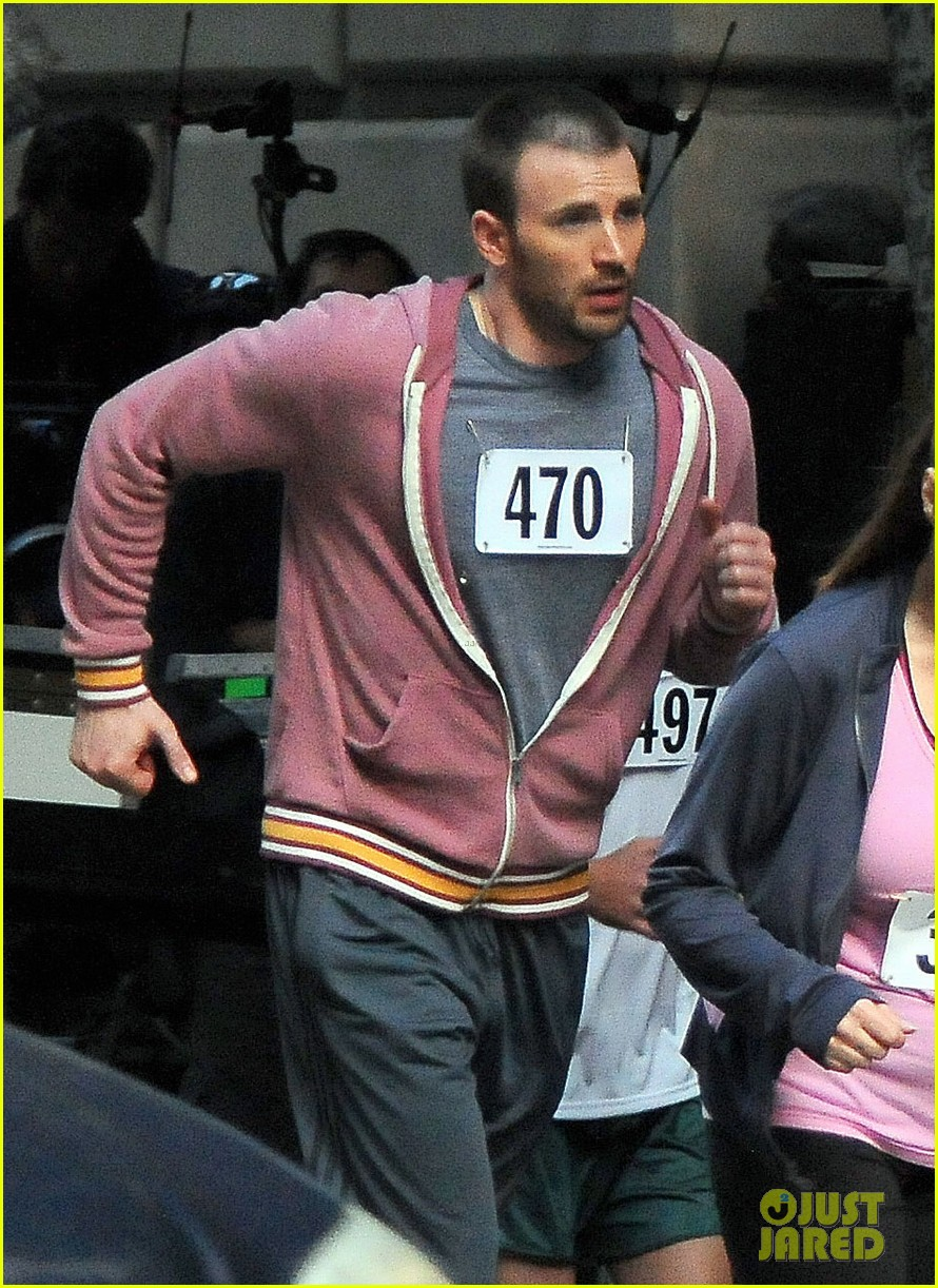 chris evans splintered thing marathon runner 142764743