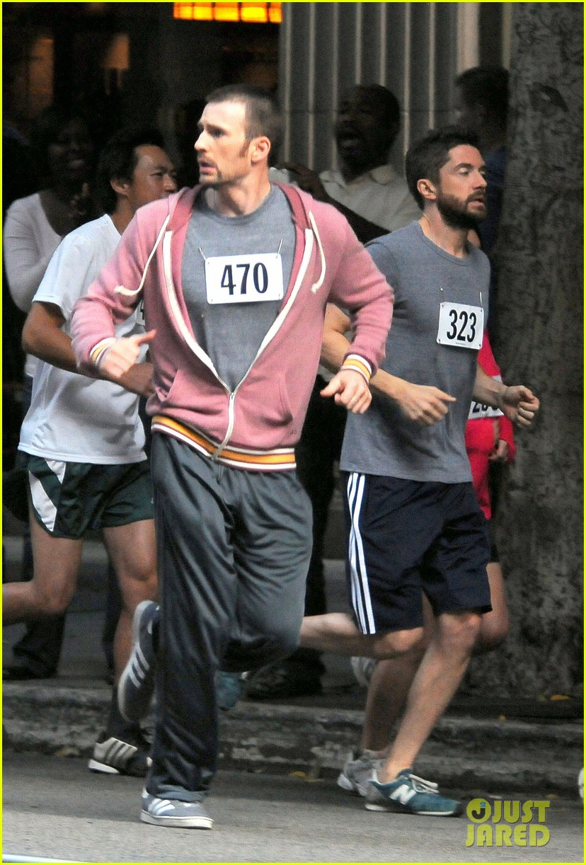 chris evans splintered thing marathon runner 152764744