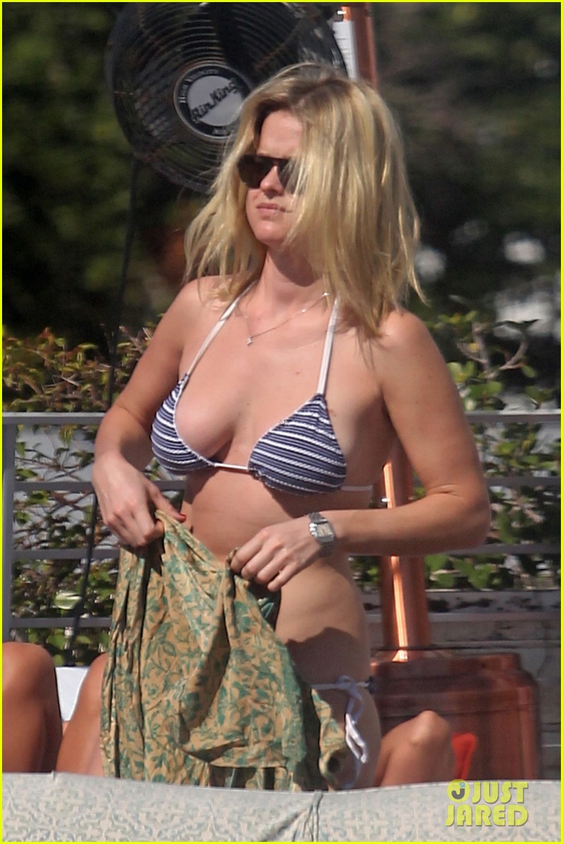 alice eve poolside bikini in miami 01