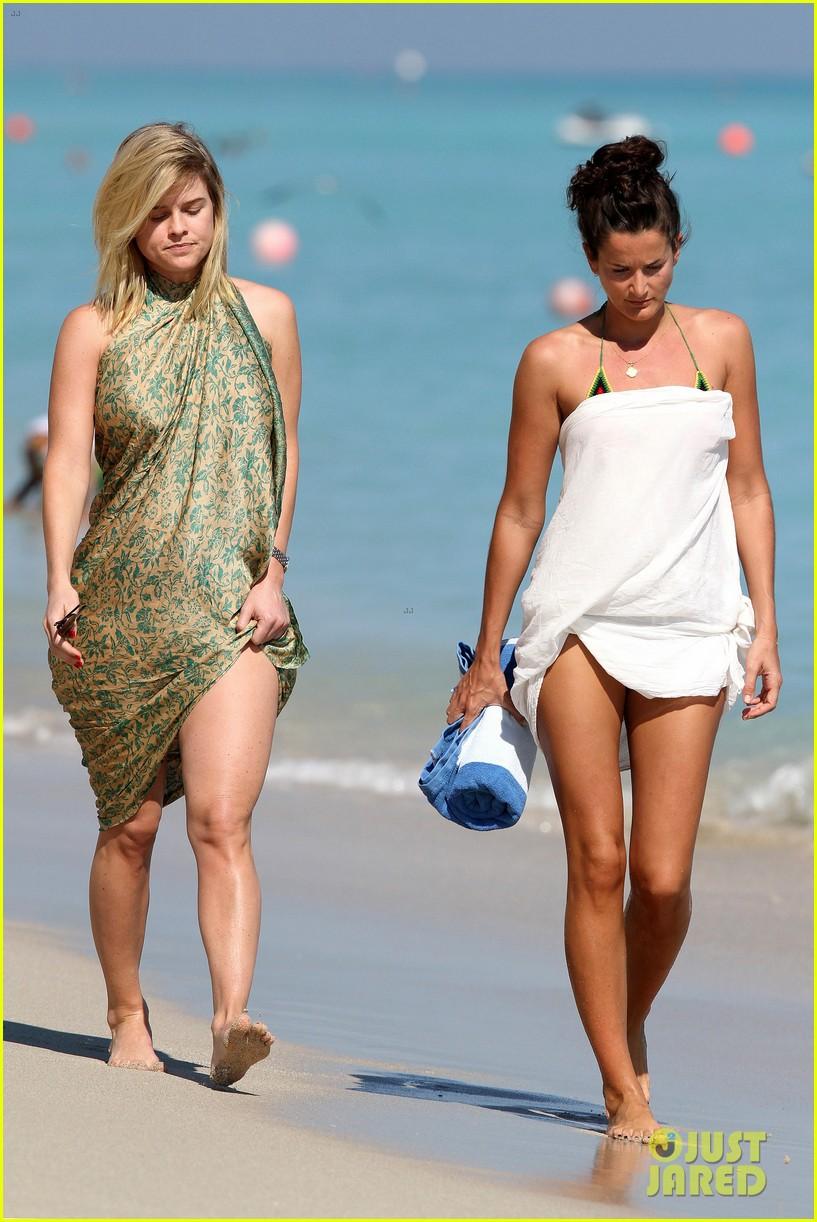 alice eve poolside bikini in miami 102764133