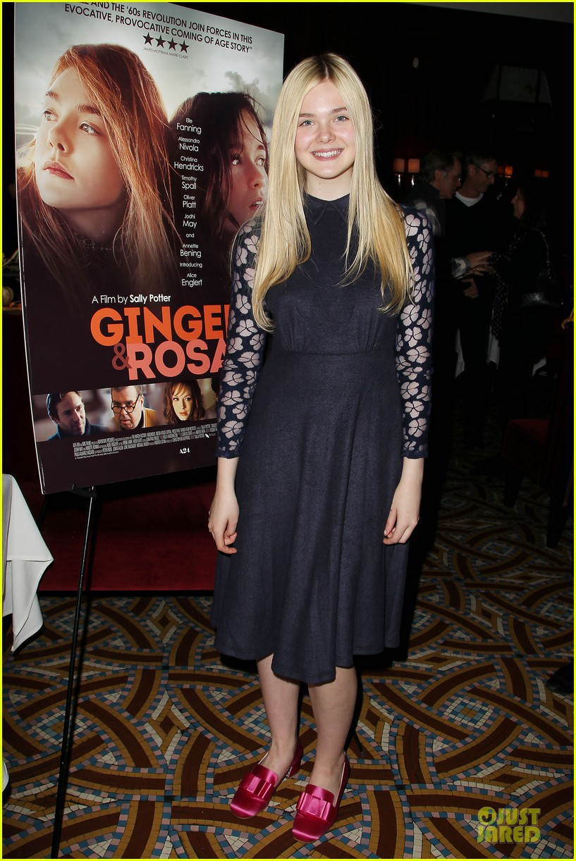 elle fanning ginger & rosa screening after party 012755565