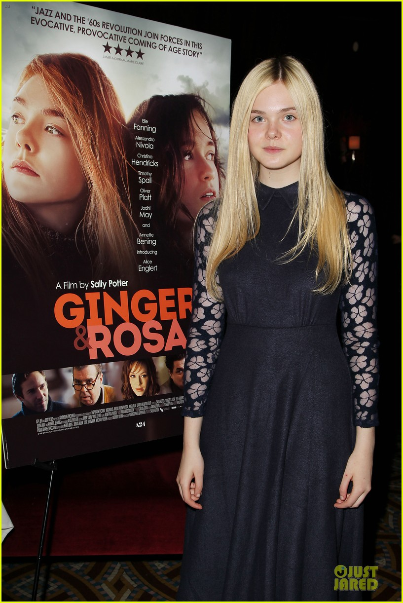 elle fanning ginger & rosa screening after party 022755566