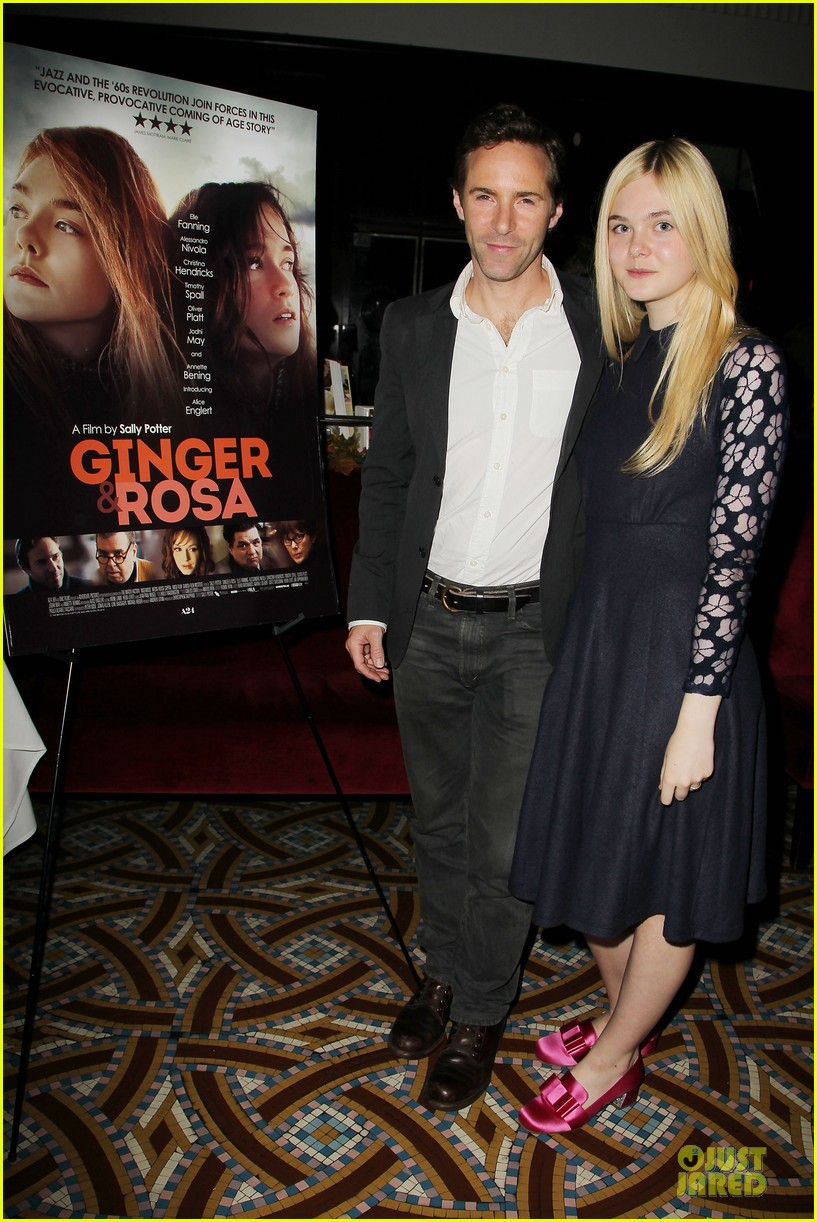 elle fanning ginger & rosa screening after party 032755567