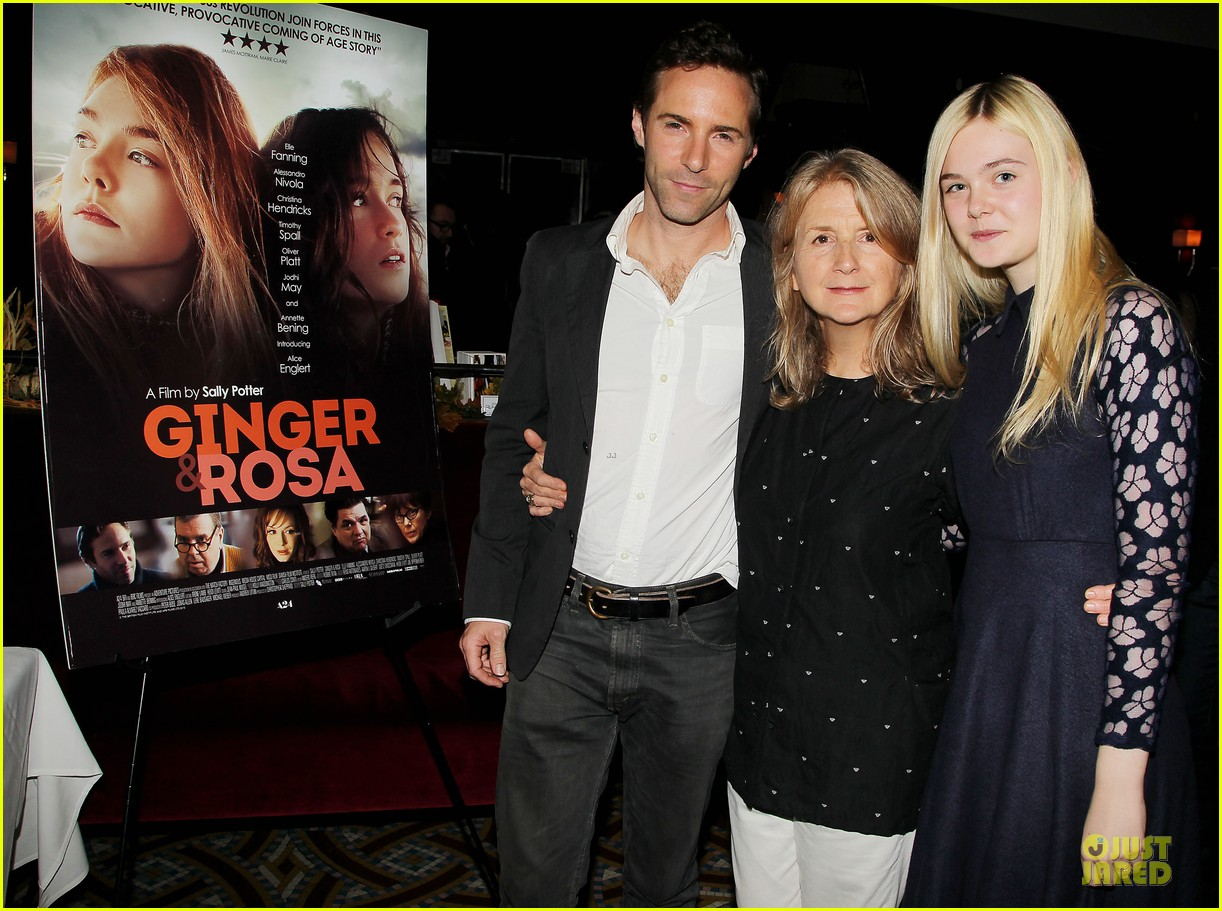 elle fanning ginger & rosa screening after party 042755568