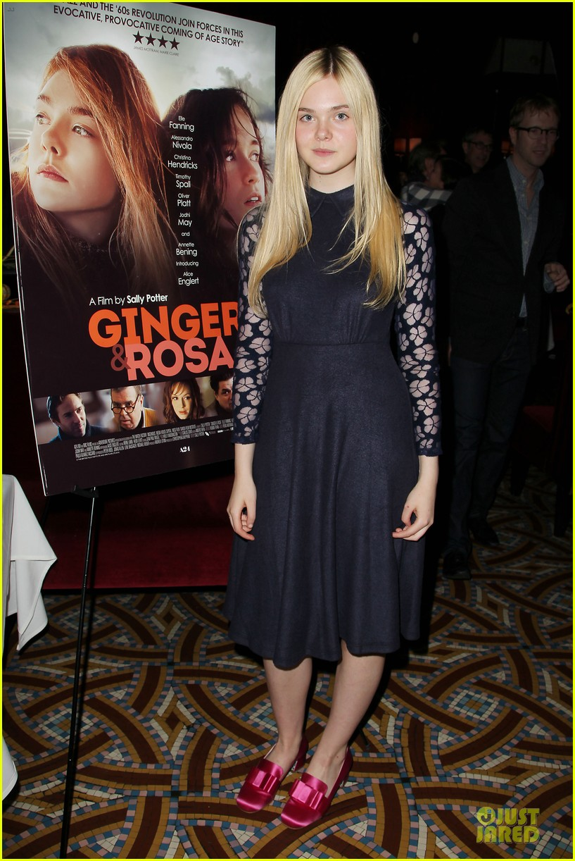 elle fanning ginger & rosa screening after party 072755571