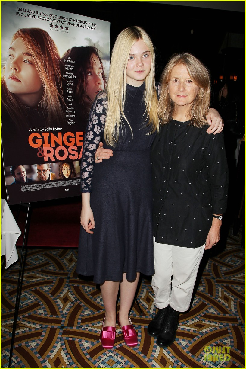 elle fanning ginger & rosa screening after party 132755577