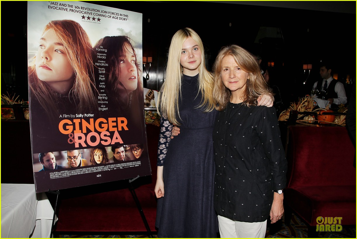 elle fanning ginger & rosa screening after party 15