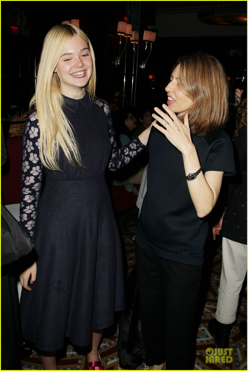 elle fanning ginger & rosa screening after party 22
