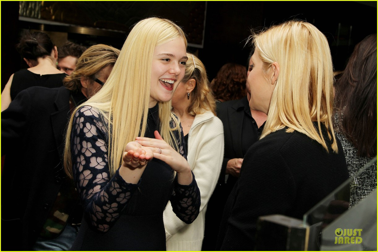 elle fanning ginger & rosa screening after party 292755593