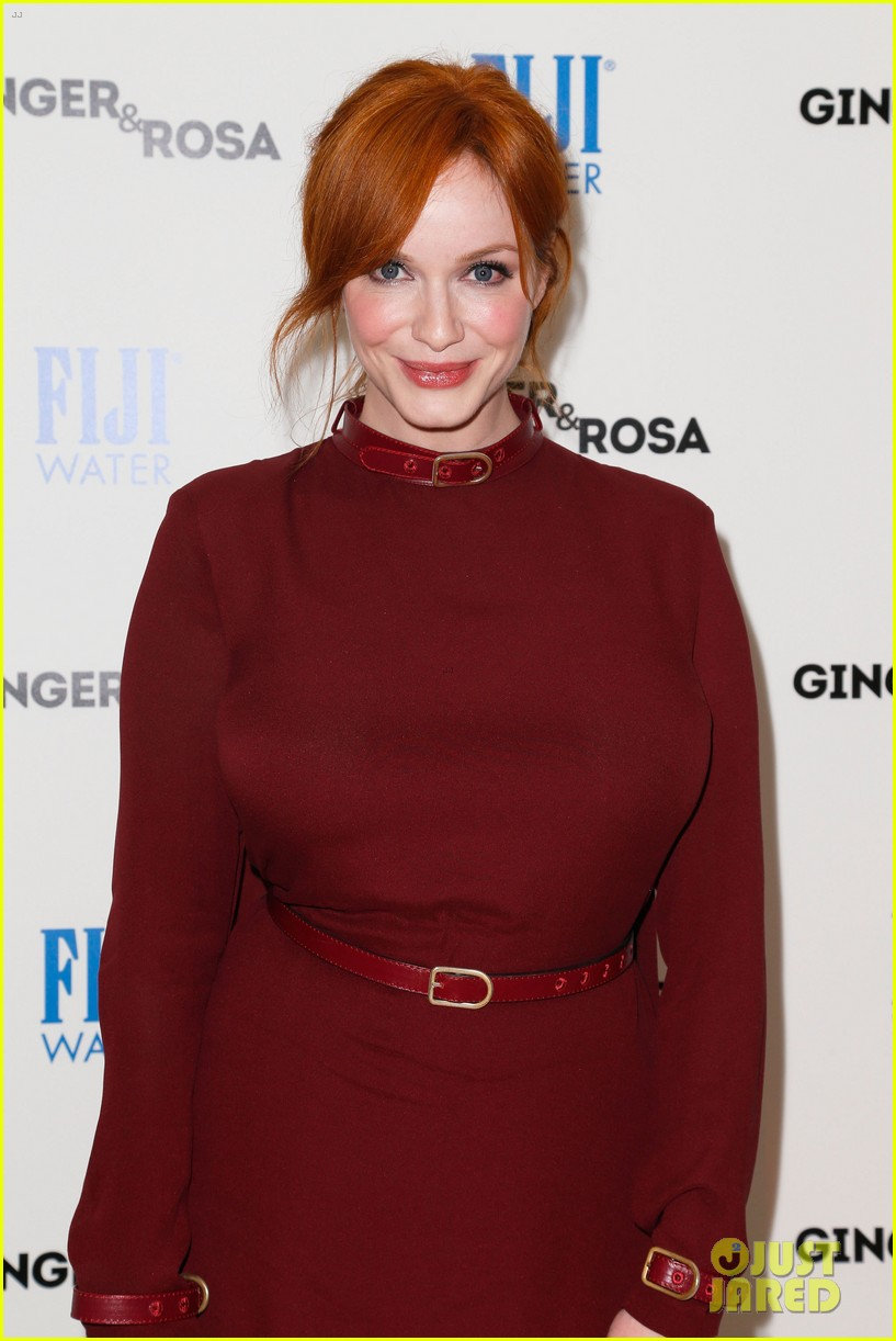 elle fanning ginger rosa screening with christina hendricks 062754166