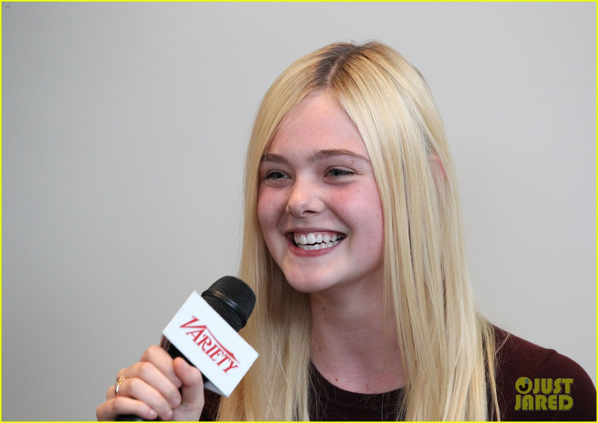 elle fanning logan lerman variety studio awards edition 302765789