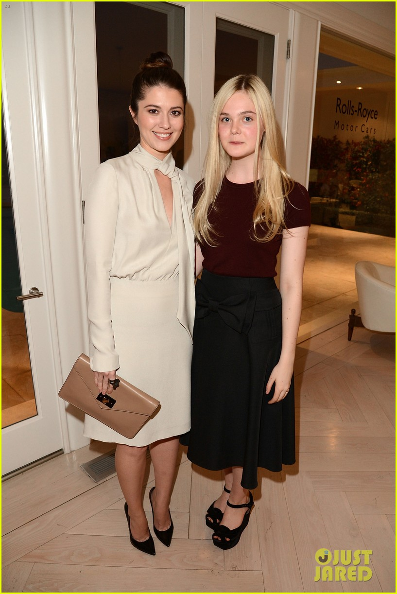 elle fanning logan lerman variety studio awards edition 32