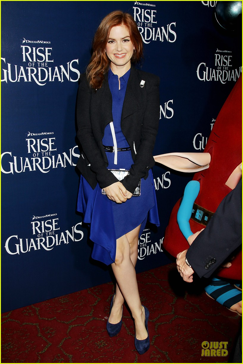isla fisher rise of the guardians premiere 14