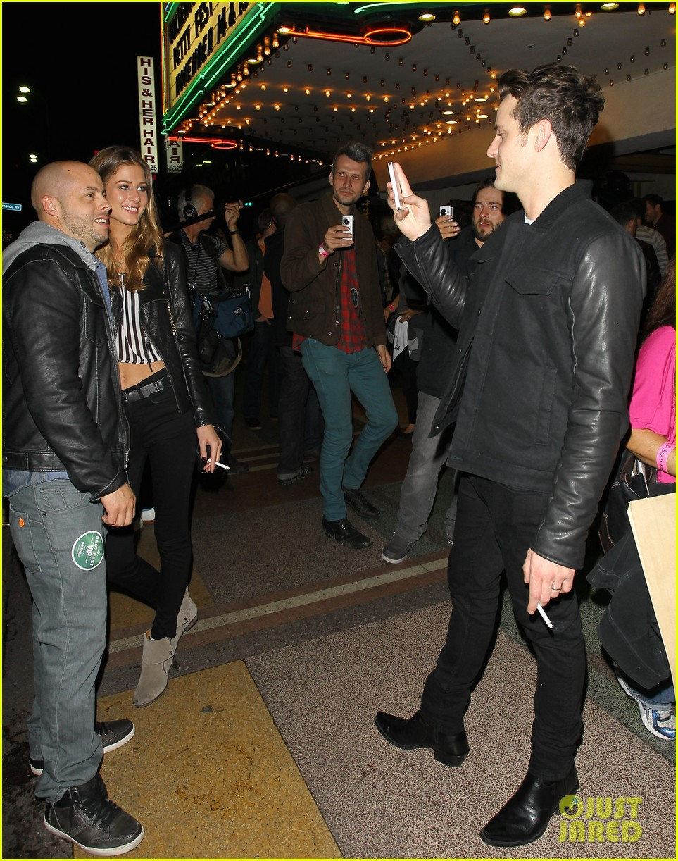 jared followill johnny depp petty fest west players 072759036