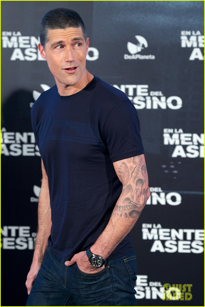 matthew fox alex cross madrid photocall 192756125