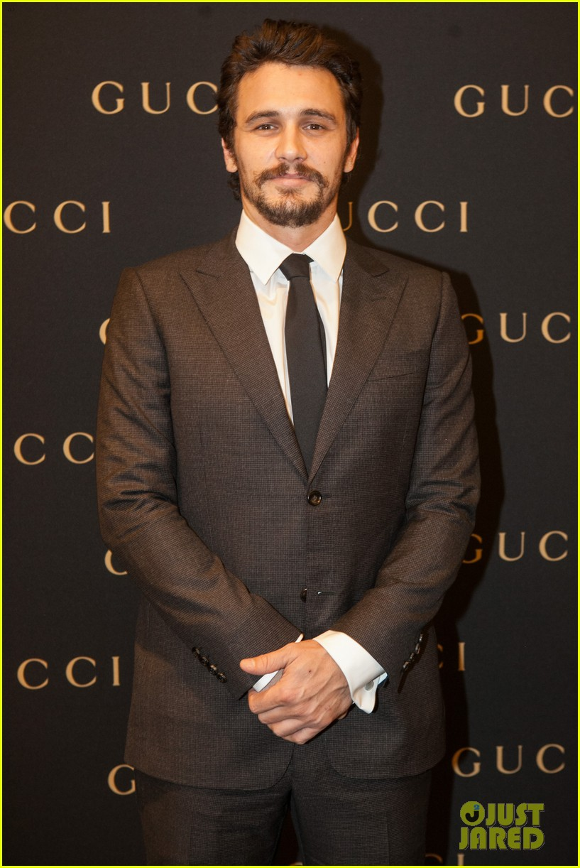james franco gucci store opening in sao paulo 012756453