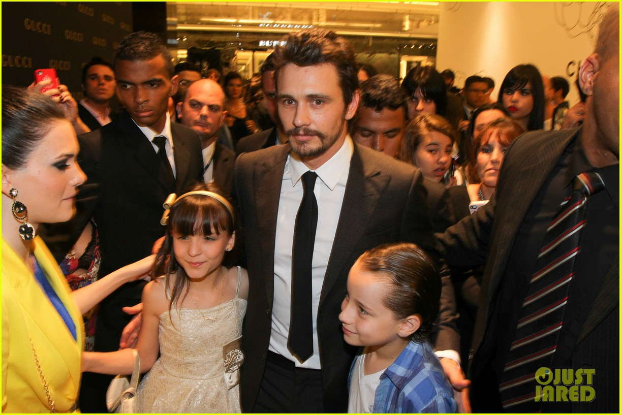 james franco gucci store opening in sao paulo 052756457