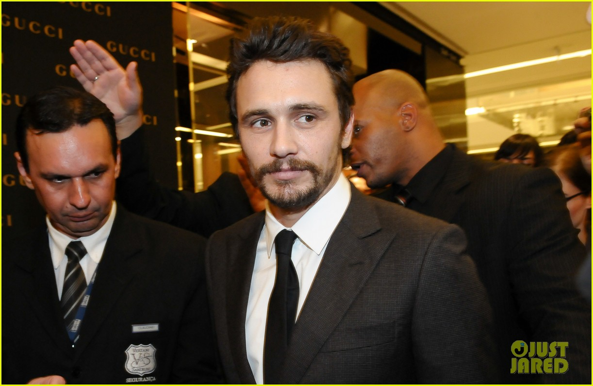 james franco gucci store opening in sao paulo 072756459