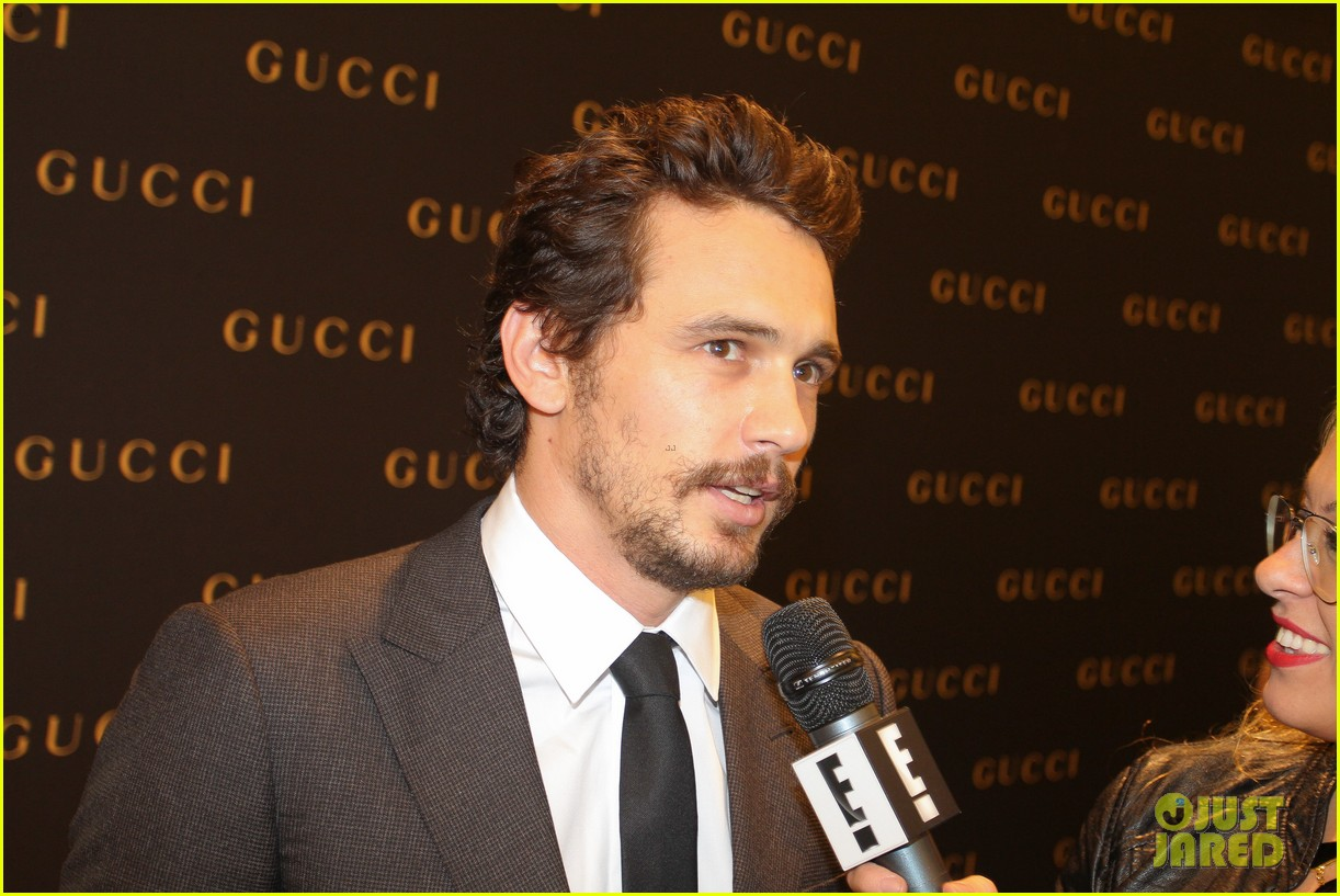 james franco gucci store opening in sao paulo 11