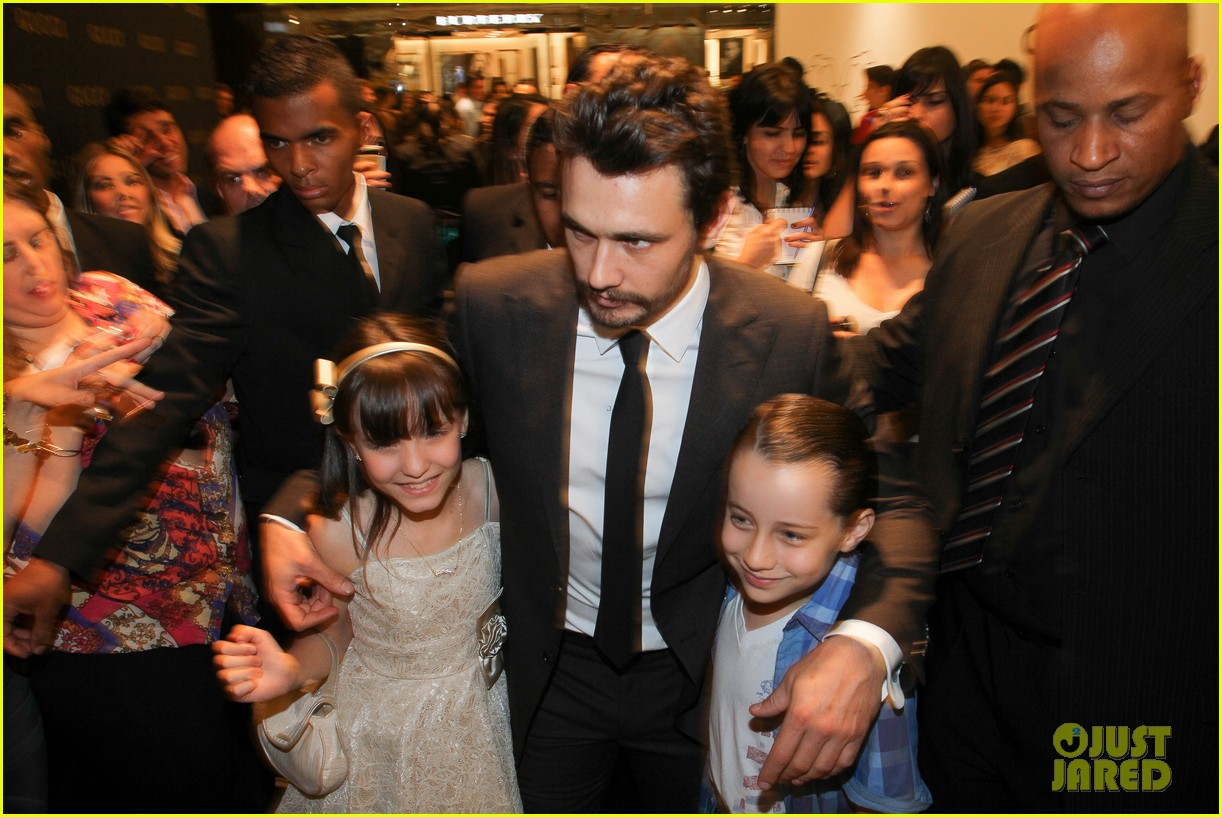james franco gucci store opening in sao paulo 122756464