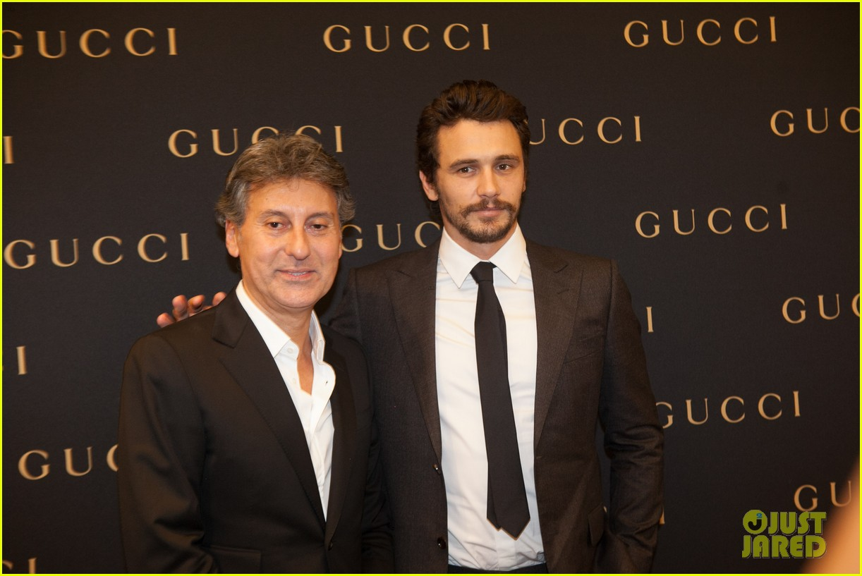james franco gucci store opening in sao paulo 142756466