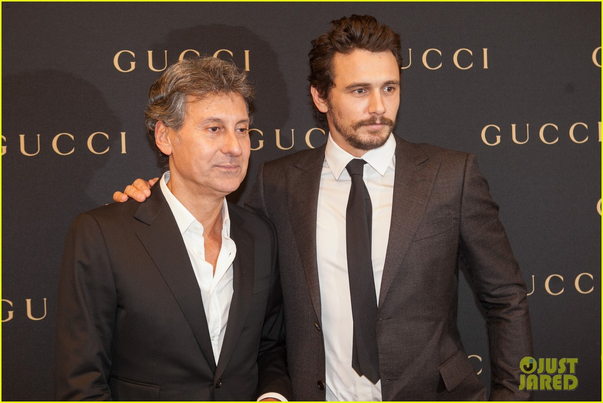 james franco gucci store opening in sao paulo 17