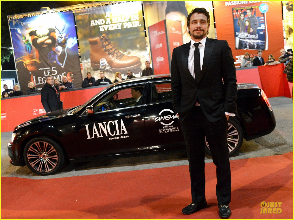 james franco tar rome film festival premiere 062759232