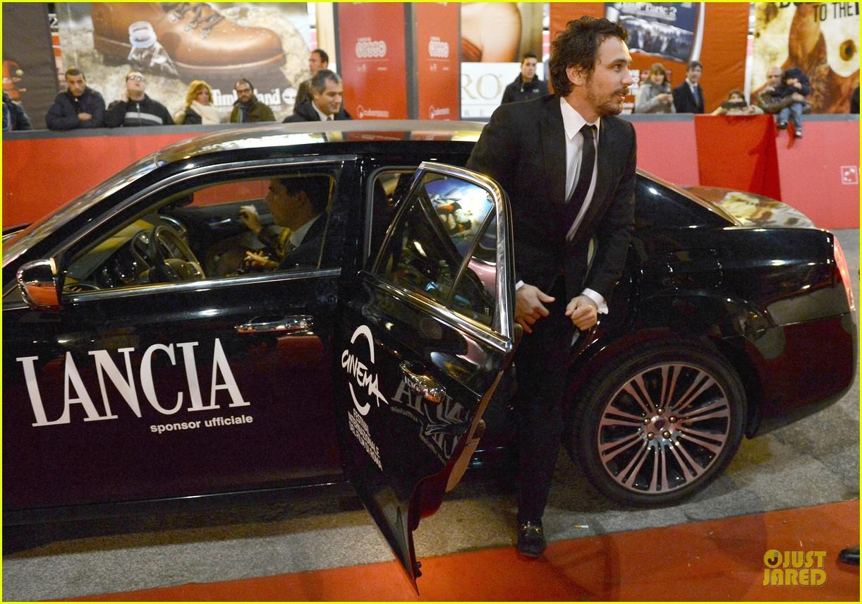 james franco tar rome film festival premiere 072759233